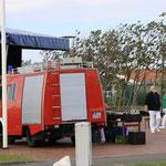 Konzert im Park am Deich in Friedrichskoog, 14.07.2015, nur die Zuschauer fehlen noch