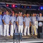 Wilster-Jahrmarkt am 15.07.2017, Auftritt mit Temperament und Leidenschaft