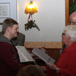 Mitgliederehrung während der Weihnachtsfeier 2014, Stefan Mehlert, 10 Jahre