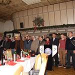 """Weihnachtsfeier 2012 in unserem Übungslokal """"Klever Hof"""", 18.12.2012"""