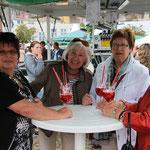 Schlussveranstaltung der Matjeswoche 2015 in Glückstadt -unser Fanclub-