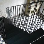 """""""les Obliques"""" Ivr /Seine (94) escalier Gilbert Kadyszewski"""