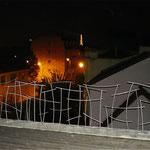Terrasse de nuit à Surennes (92)