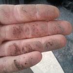 Matschehände von der Schleppleine