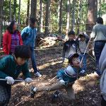 親子対象ロープを持って森へ行こう