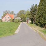 Dorfstraße in Laasche