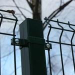 Забор 3d.  Секционные ограждения Fensys