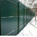 Установка заборов из профнастила под ключ  Заборы из профнастила https://www.concrete-fences.com