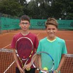 Junioren AK 4 - Fabian Stiewe und Luis Hoffmann