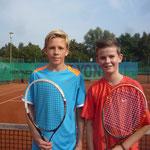 Junioren AK 3 - Robin Odtallah und Sebastian Mis