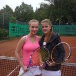 Juniorinnen AK 1/2 - Pia Keller und Michelle Otto