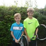 Junioren/Juniorinnen AK 5 - Franz Dorn und Felix Dannenberg