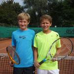 Junioren AK 4 - Max Weiß und Julius Weiß