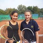 Juniorinnen AK 3/4 - Sandra Rodriguez-Porto und Lena Schiffer