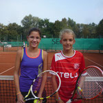 Juniorinnen AK 3/4 - Celia Abril und Maja Odtallah