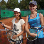 Juniorinnen AK 1/2 - Tânia Nunes und Johanna Farke
