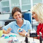Praxis, Labor, Zahntechnik