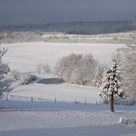 Winterlicher Blick ins Tal