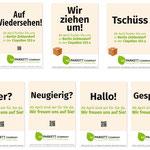 Parkett Company Berlin: Plakte für den neuen und alten Laden