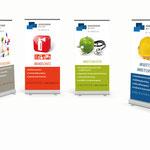 Ingenieurbüro Rainer Siebert: Roll-Up-Banner für unterschiedliche Unternehmensbereiche