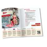 Traumkonzepte Berlin:  Dopplseitige Anzeige im Roseneck Magazin