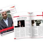 Habedank Personalentwicklung Hannover: Kundenzeitschrift 12 Seiten