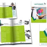 LEITHNER: Unternehmensbroschüre DIN A4 8-Seiter