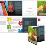 Habedank Personalentwicklung Hannover: 8-Seitiger Seminarflyer, mit abtrennbarer Antwortkarte
