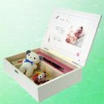 可愛い木箱に思い出をつめこめる…ドリームボックス