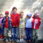 Die Kinder aus der Waldwichtelgruppe