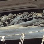 2015年秋の鎌倉 本覚寺の鐘楼の猿