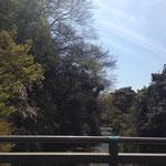 鎌倉 宝戒寺橋から