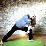 Parshvakonsasana - Yoga für Schwangere - Yoga in Neukölln