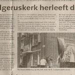 artikel over Ludgerus-schildering -  in opdracht van werkgroep Direkte Voorzieningen