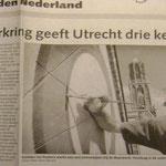 artikel over zonnewijzer Museum Speelklok - in opdracht van werkgroep Direkte Voorzieningen