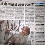 artikel over Leidseweg - in opdracht van werkgroep Direkte Voorzieningen