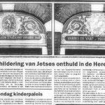 artikel over verffabriek Stel, Herenstraat -  in opdracht van werkgroep Direkte Voorzieningen