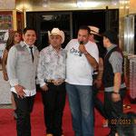Carlos Arriaga y Juan Carlos El Divo de la banda - Ex-vocalista de banda lagos