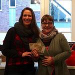 """Daniela Schäfer von den """"Porzer and Friends helfen Flüchtlingsindern"""" und Tanja Hartwig von Easy Welcome"""