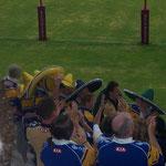 Juillet 2005 - Broncos Vs Rhinos à Perpignan