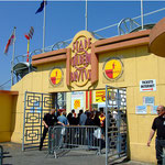 Entrée Stade Gilbert Brutus Perpignan - © Tous droits réservés - Crédit photo Mr Mac EVANS