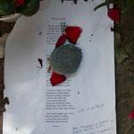 Collioure - Sur la tombe d'Antonio Machado © Tous droits réservés - Crédit photo Pierre GOUJET