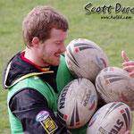 Scott DUREAU... porteur de ballons - Entrainement Février 2011