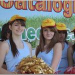 Pom Pom Girls à Aimé GIRAL Avril 2010 © Tous droits réservés - Crédit photo Mr Jean-Pierre GARY  -  www.rugby66.fr