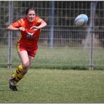 Division 3 Féminine USAP / RCNM 25 avril 2010 © Tous droits réservés - Crédit photo Mr Jean-Pierre GARY  -  www.rugby66.fr