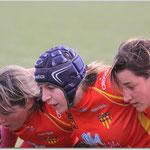 Division 3 Féminine USAP / St Orens © Tous droits réservés - Crédit photo Mr Jean-Pierre GARY  -  www.rugby66.fr
