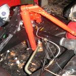 ein paar Kleinteile fehlen noch, wie zB die Blechlaschen zur Befestigung der Bremsleitungen
