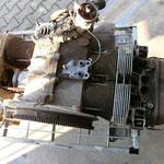 dies hier sind die traurigen Überreste eines 1600er AS Motors.