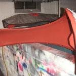 Ich freu mich schon wenn ich den Unterboden, inklusive Radkästen, Kotflügel innen, Hauben innen und Kofferboden in antrazith glänzend lackiere :-)