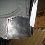 Das Blech an der Spritzwand, welches ich rausflexen musste, hab ich nun nachgebaut und wird bald einegschweißt.